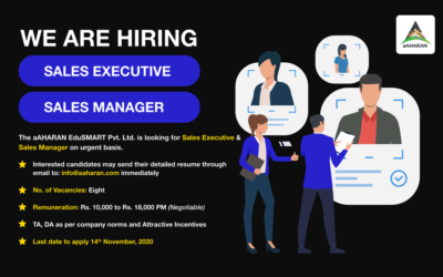 Openings For Sales Executives & Sales Manager