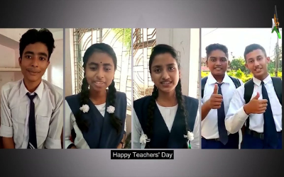 Tribute to teachers  – Happy Teachers' Day 2021